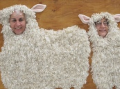 syl and rob sheep