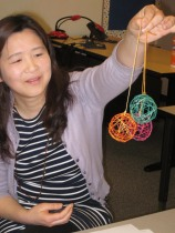 embroidery floss balls