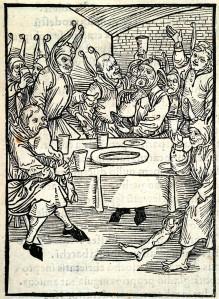 Albrecht Dürer's Gluttony, Wikimedia Commons