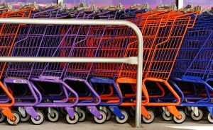 shopping carts courtesy of Wikimedia Commons