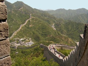 Great Wall from top