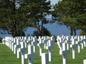Nearly 10,000 graves at American Cemetery