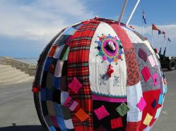 Quilters convention, Arromanches, Normandy
