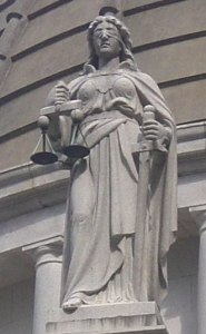 Lady Justice from Wikimedia