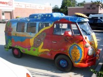 """Be Your Own Goddess art bus (1967 VW Kombi) IMG 0136"" by User Montrose Patriot on en.wikipedia -"